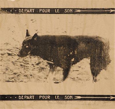 Собака. 60×95 см
