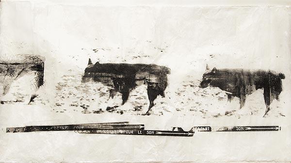 Собака I. 70×130 см