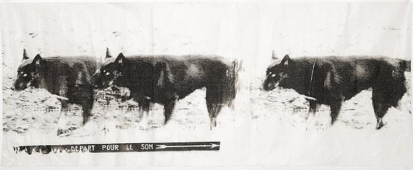 Собака II. 70×130 см