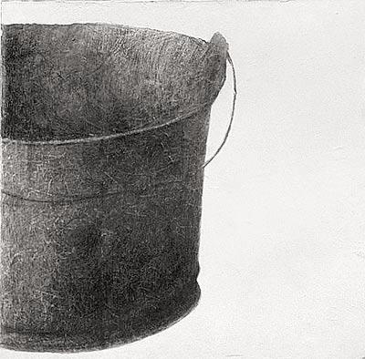 Buckets III. 60×60 cm