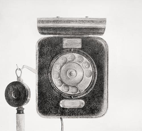 Telephone. 180×195 cm