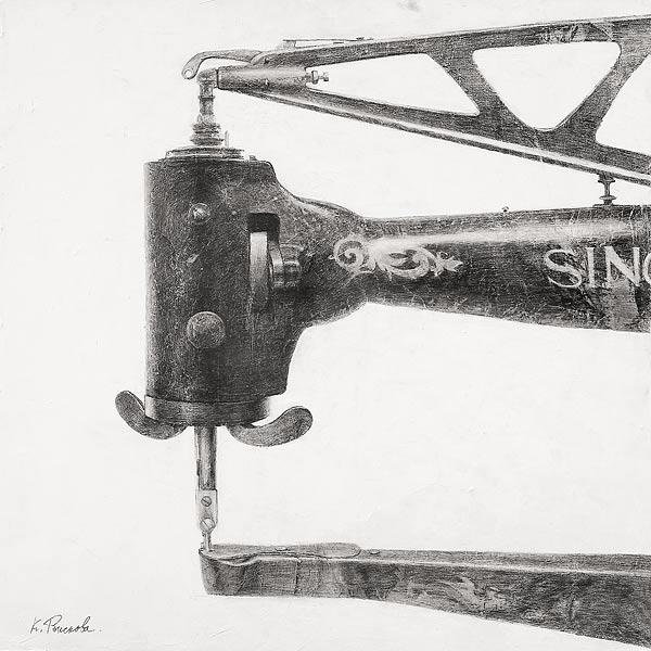 Singer II. 120×150 cm