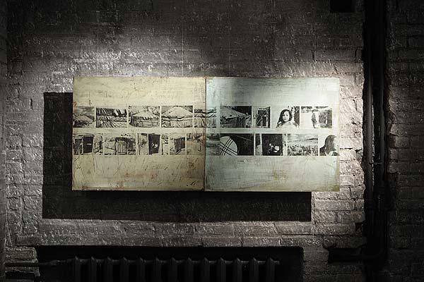 Фото 3. «Юрта. Хакасия». Галерея Врублевской, Москва, 2005 г.